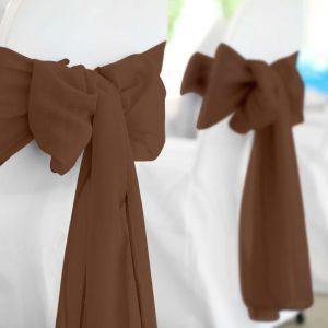 Brown Polyester Sash