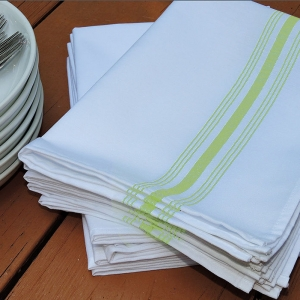 Lime Green Bistro Napkin, Sold by the Dozen Purchase